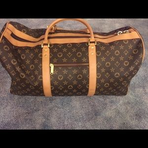 Louis Vuitton knock off duffel bag